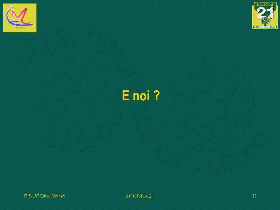 E noi ITIS-LST Ettore Molinari SCUOLA 21