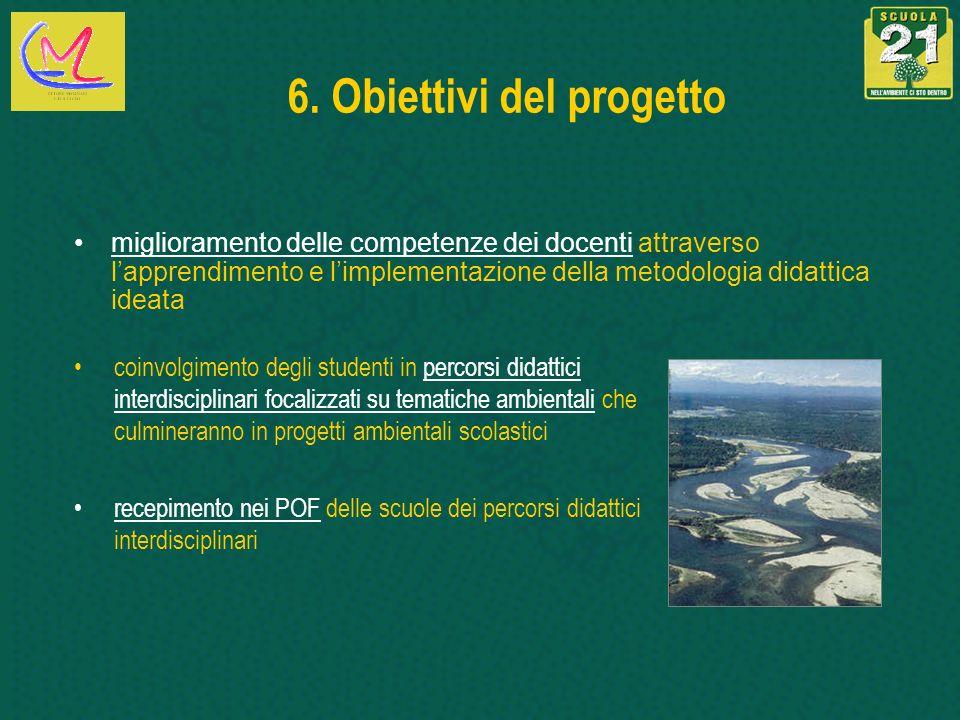 6. Obiettivi del progetto