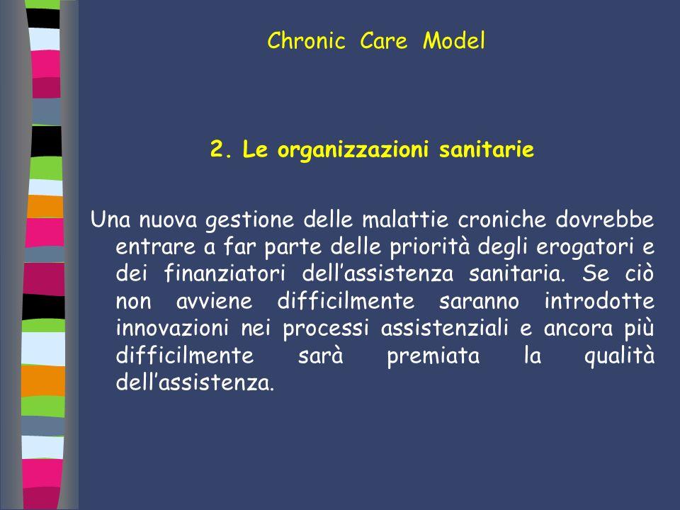 2. Le organizzazioni sanitarie