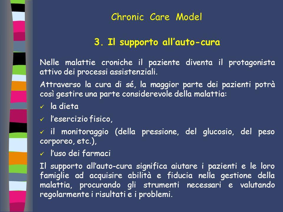 3. Il supporto all'auto-cura