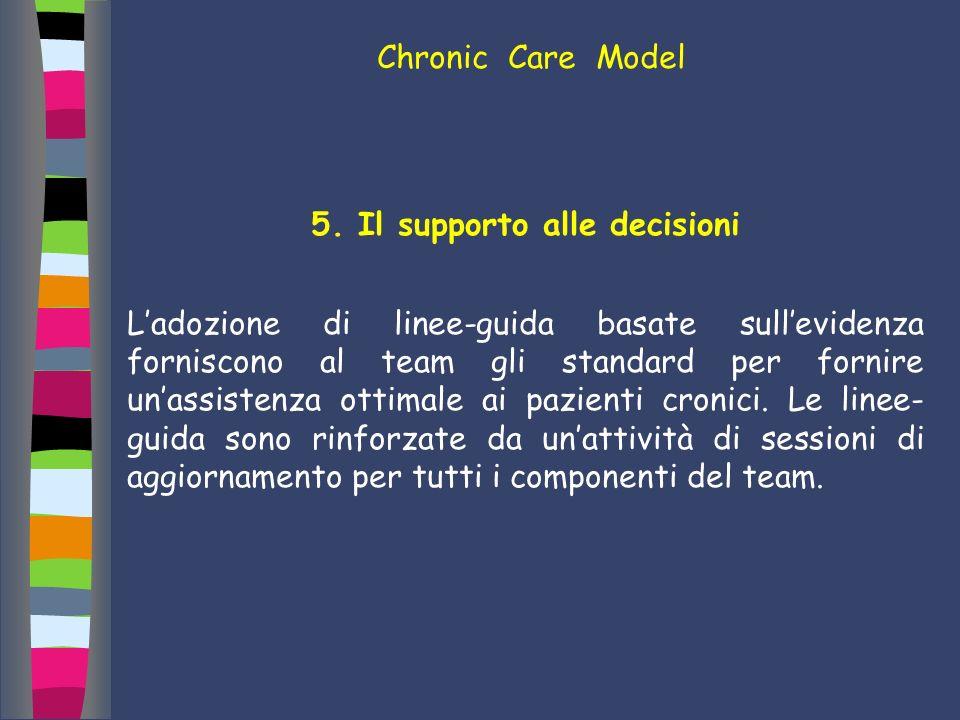 5. Il supporto alle decisioni