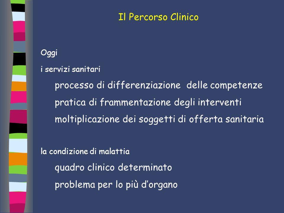 processo di differenziazione delle competenze