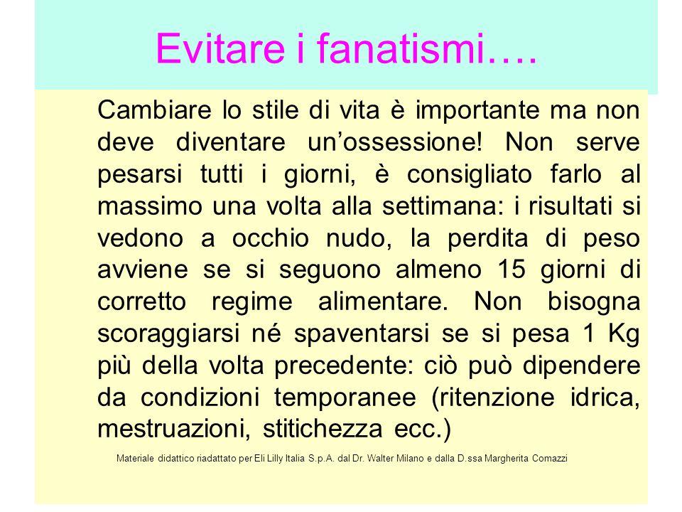Evitare i fanatismi….