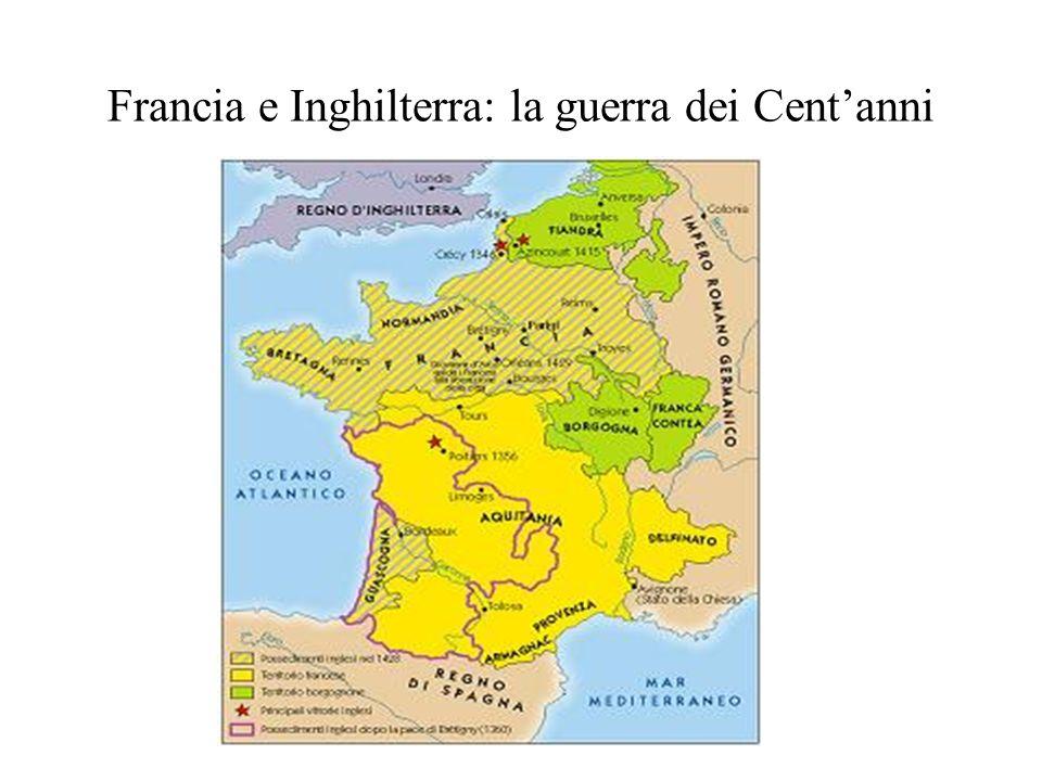 Francia e Inghilterra: la guerra dei Cent'anni