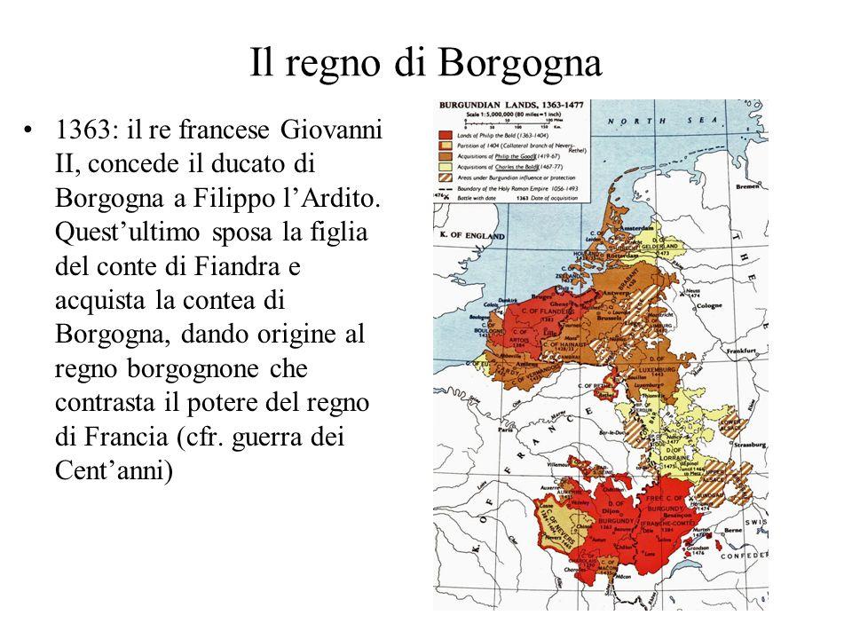 Il regno di Borgogna