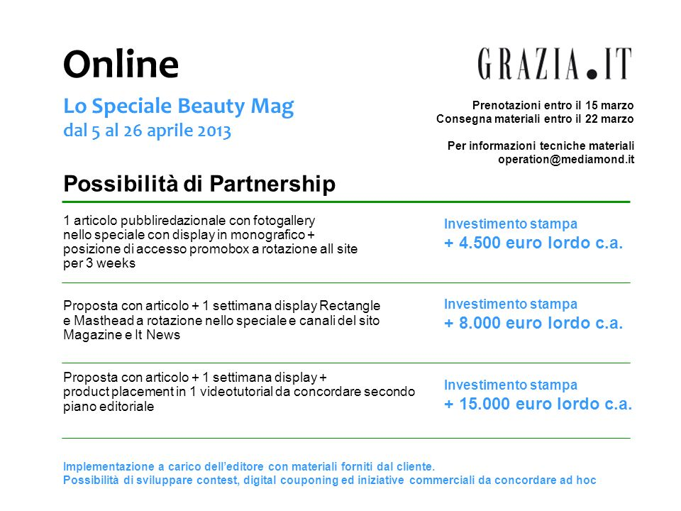 Online Lo Speciale Beauty Mag