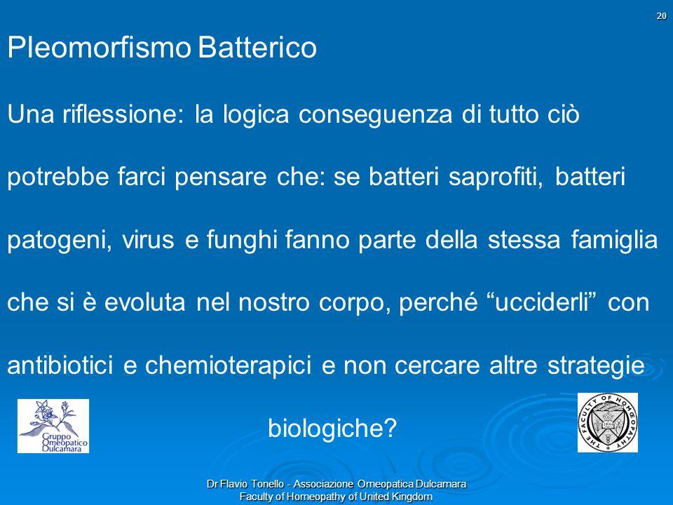 Pleomorfismo Batterico
