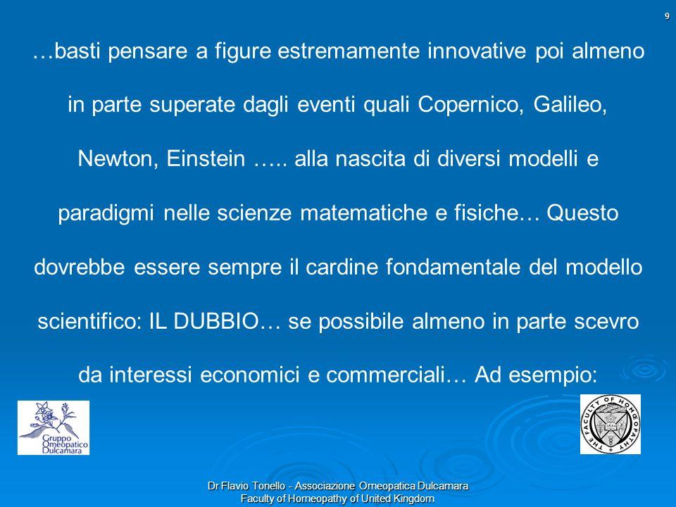 …basti pensare a figure estremamente innovative poi almeno in parte superate dagli eventi quali Copernico, Galileo, Newton, Einstein …..