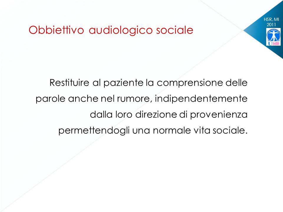 Obbiettivo audiologico sociale