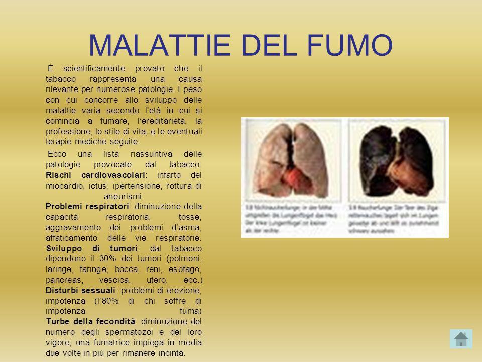 MALATTIE DEL FUMO