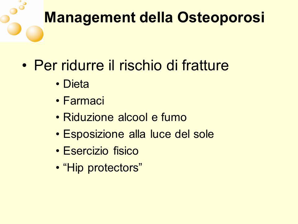 Management della Osteoporosi