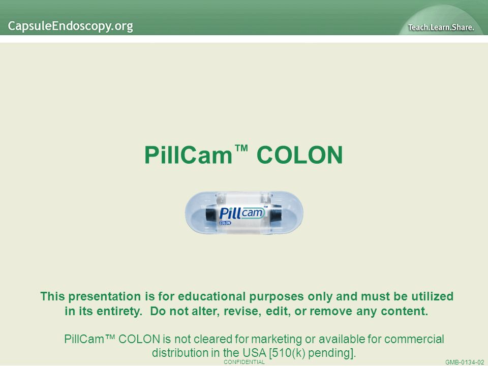 PillCam™ COLON