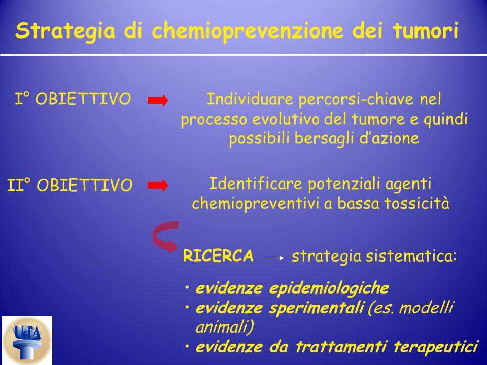 Strategia di chemioprevenzione dei tumori