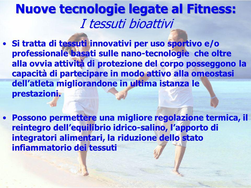 Nuove tecnologie legate al Fitness: I tessuti bioattivi