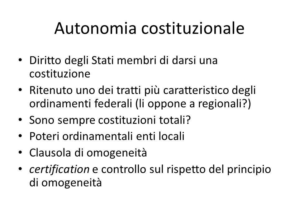 Autonomia costituzionale