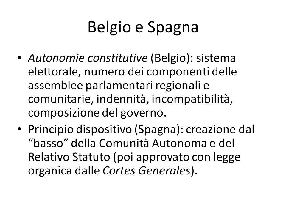 Belgio e Spagna