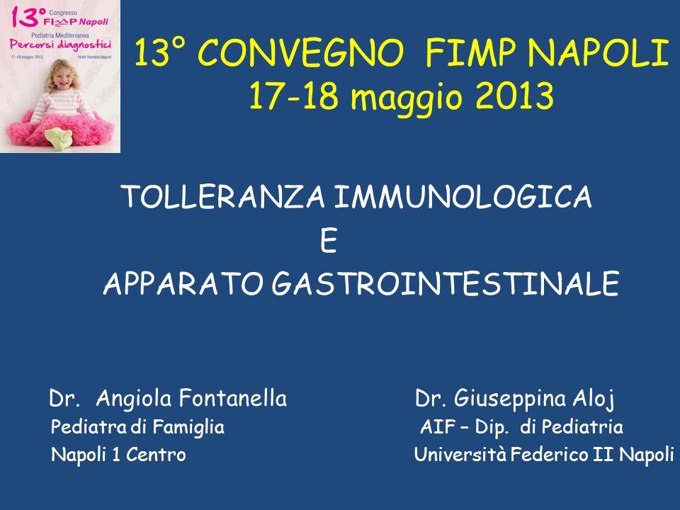 13° CONVEGNO FIMP NAPOLI 17-18 maggio 2013