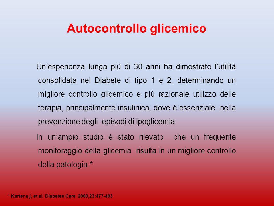 Autocontrollo glicemico