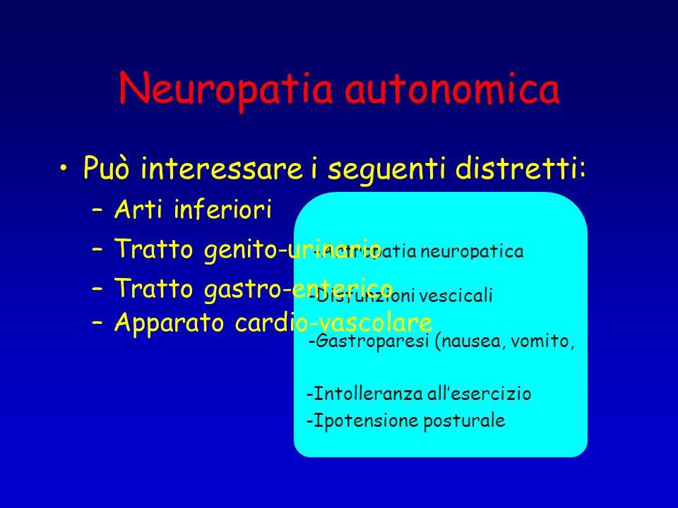 Neuropatia autonomica