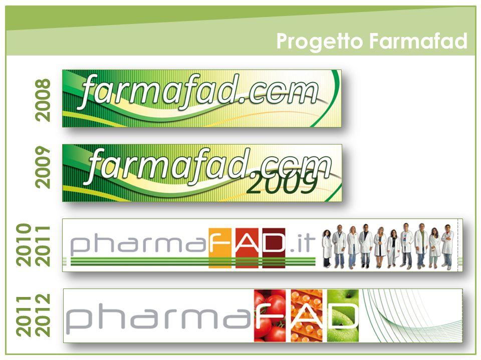 Progetto Farmafad 2008 2009 2010 2011 2011 2012