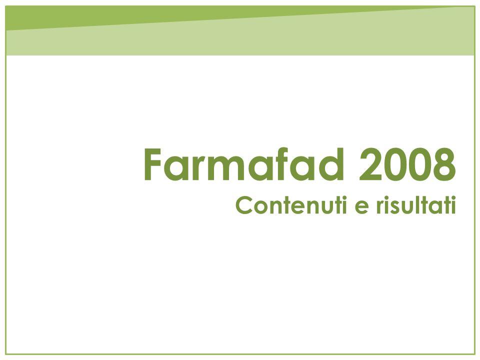Farmafad 2008 Contenuti e risultati