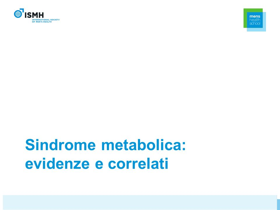 Sindrome metabolica: evidenze e correlati