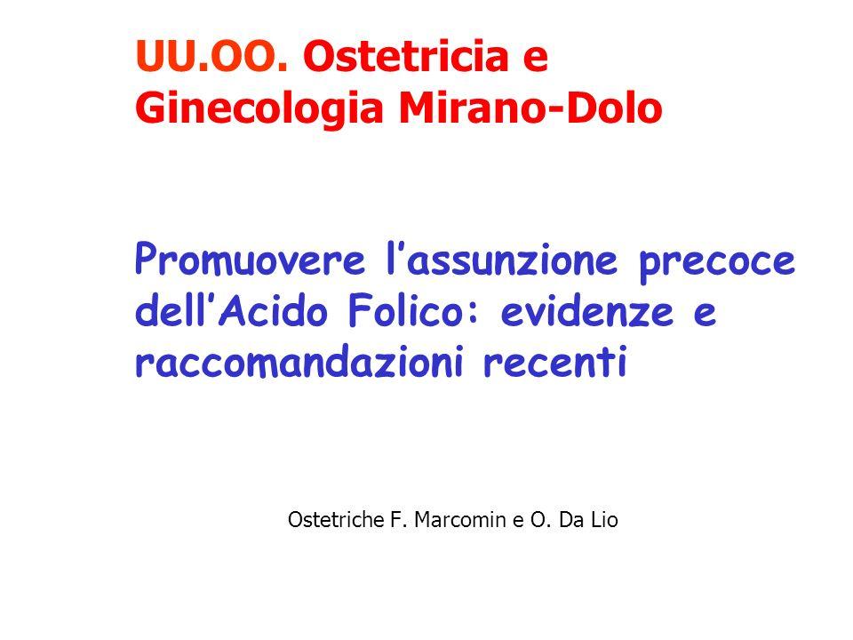 Ostetriche F. Marcomin e O. Da Lio