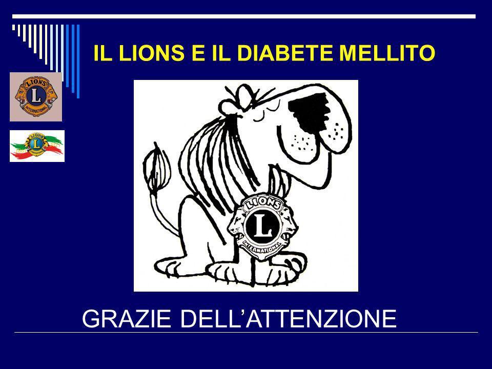 IL LIONS E IL DIABETE MELLITO