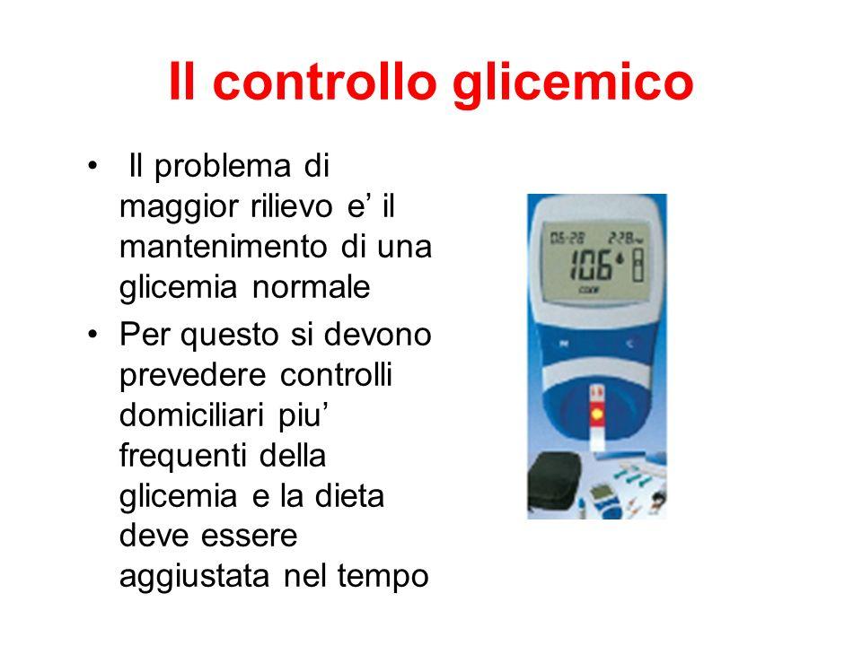 Il controllo glicemico
