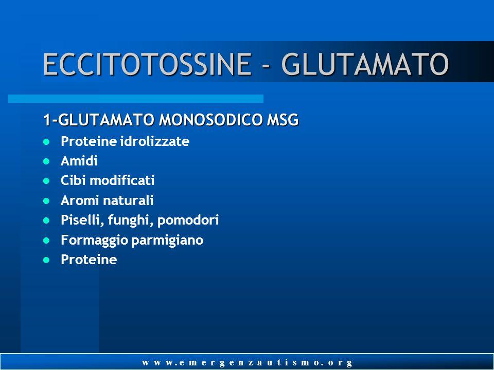 ECCITOTOSSINE - GLUTAMATO