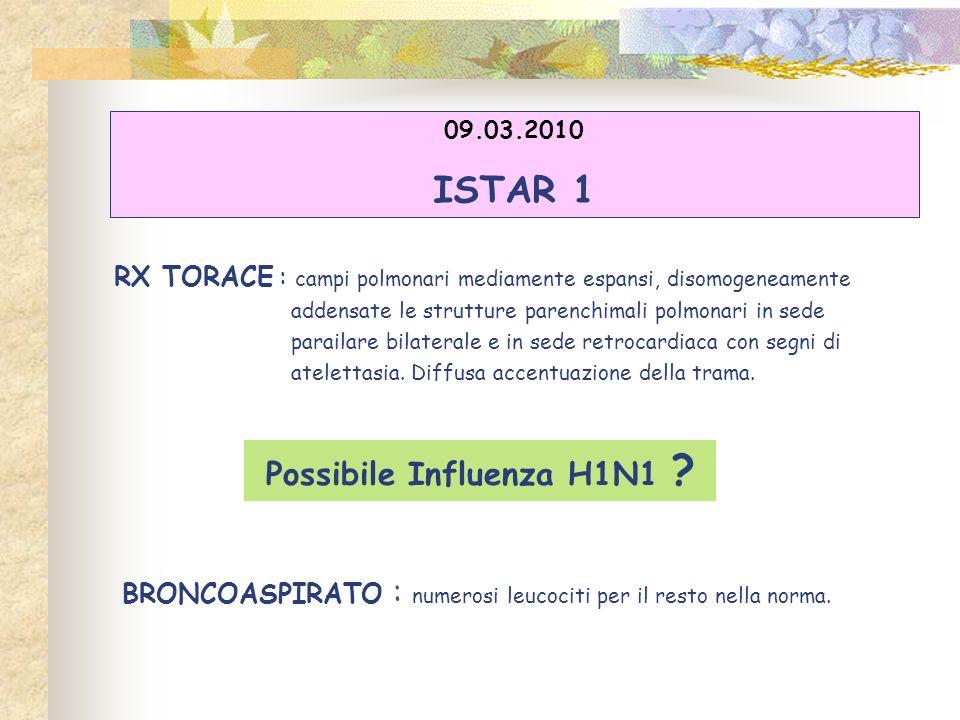 Possibile Influenza H1N1