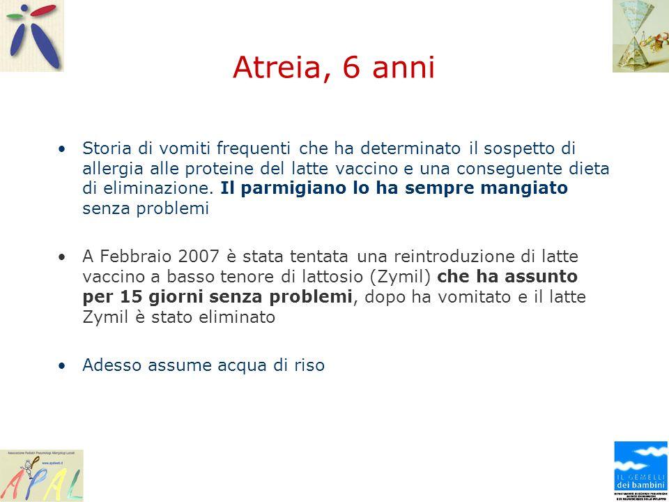 Atreia, 6 anni
