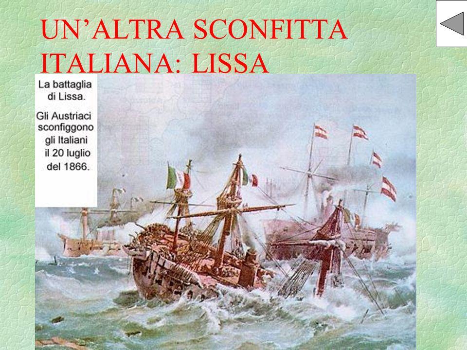 UN'ALTRA SCONFITTA ITALIANA: LISSA