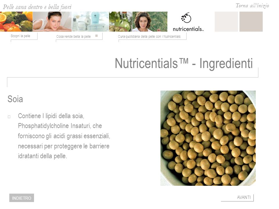 Nutricentials™ - Ingredienti