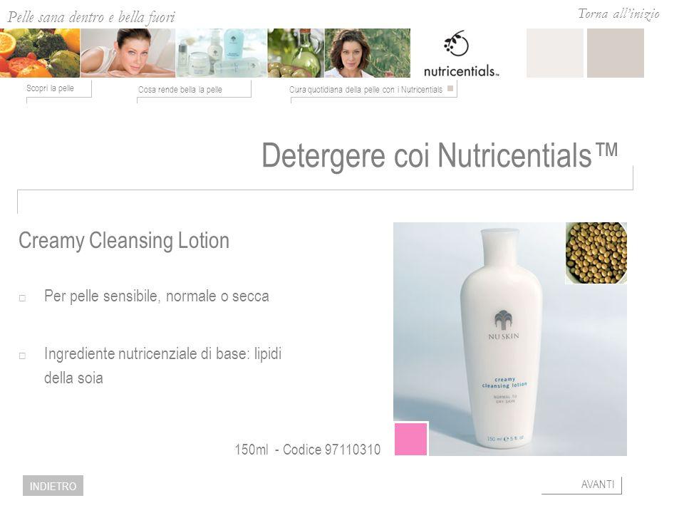 Detergere coi Nutricentials™