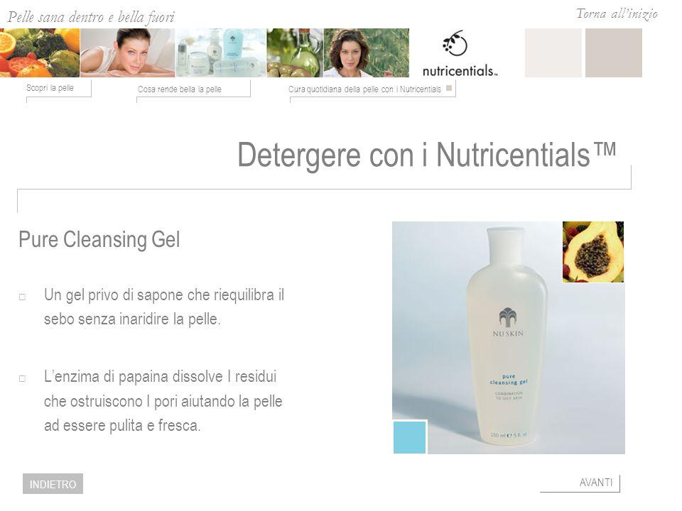 Detergere con i Nutricentials™