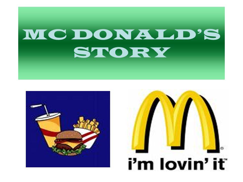 MC DONALD'S STORY