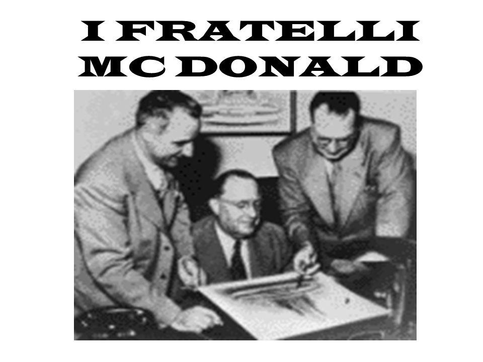 I FRATELLI MC DONALD