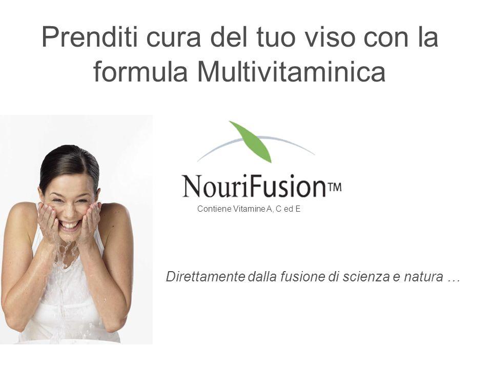 Prenditi cura del tuo viso con la formula Multivitaminica