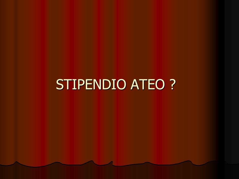 STIPENDIO ATEO