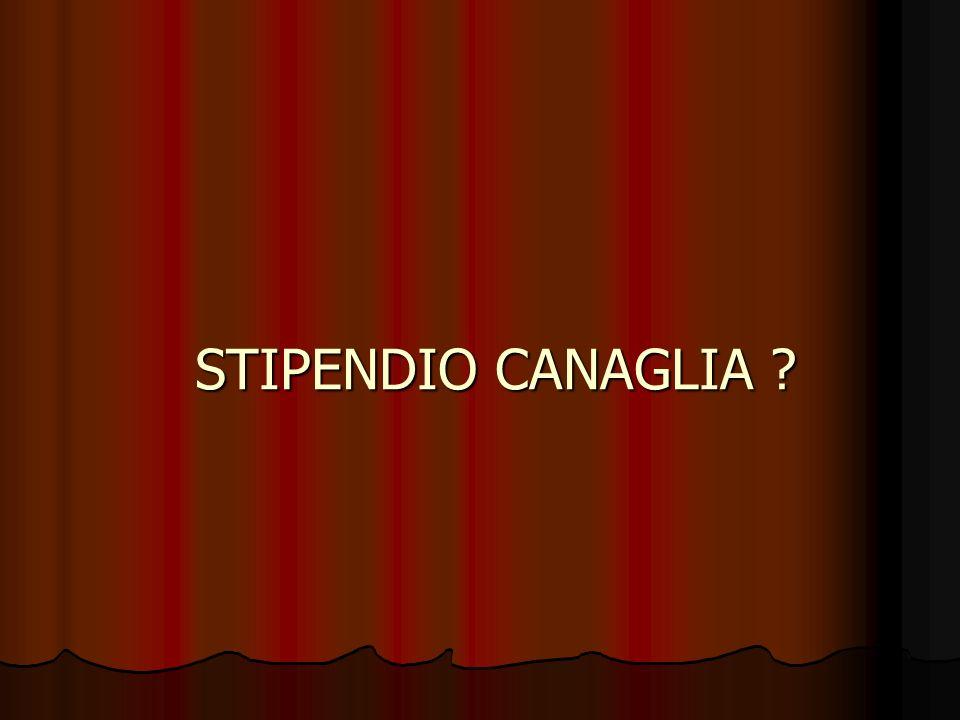 STIPENDIO CANAGLIA