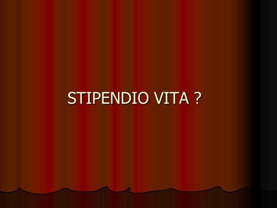 STIPENDIO VITA