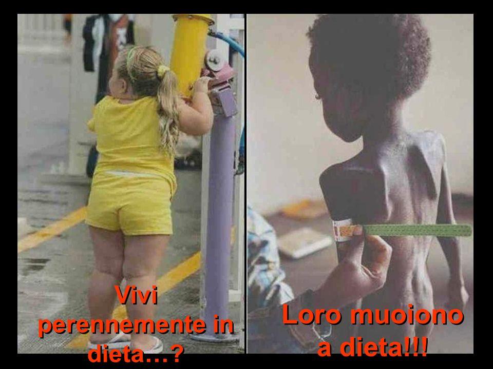 Vivi perennemente in dieta…