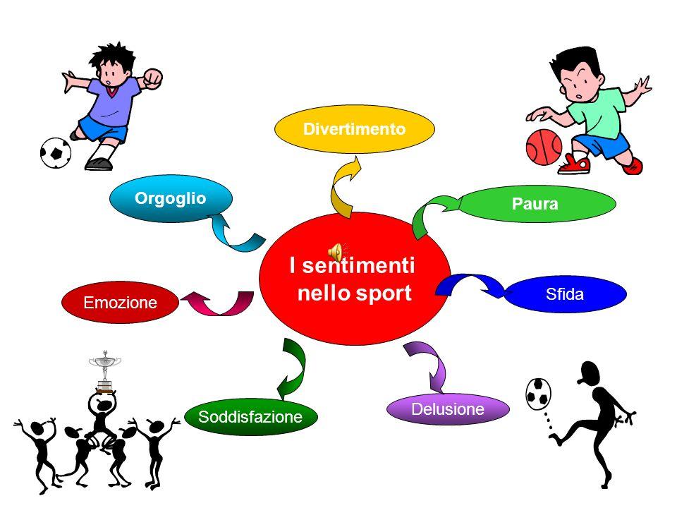 I sentimenti nello sport
