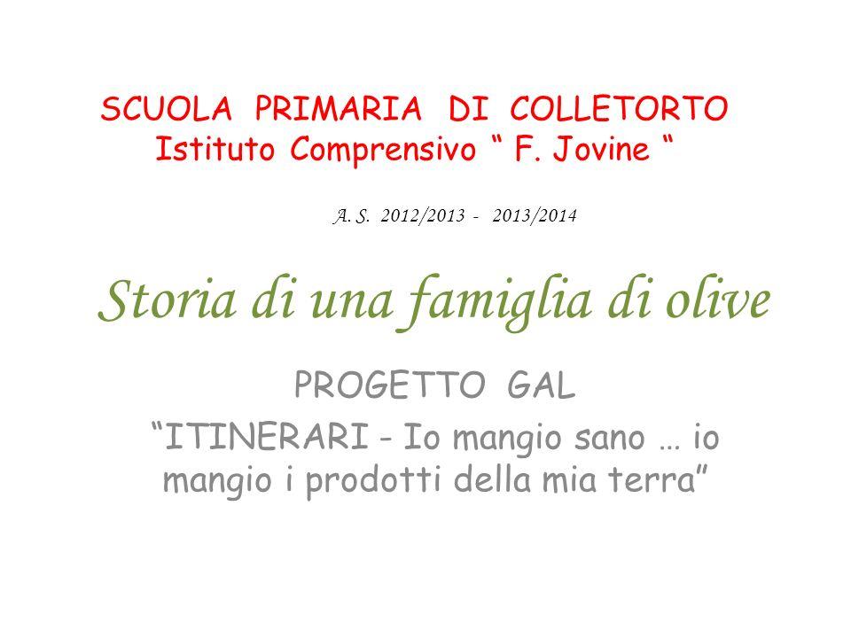 Storia di una famiglia di olive