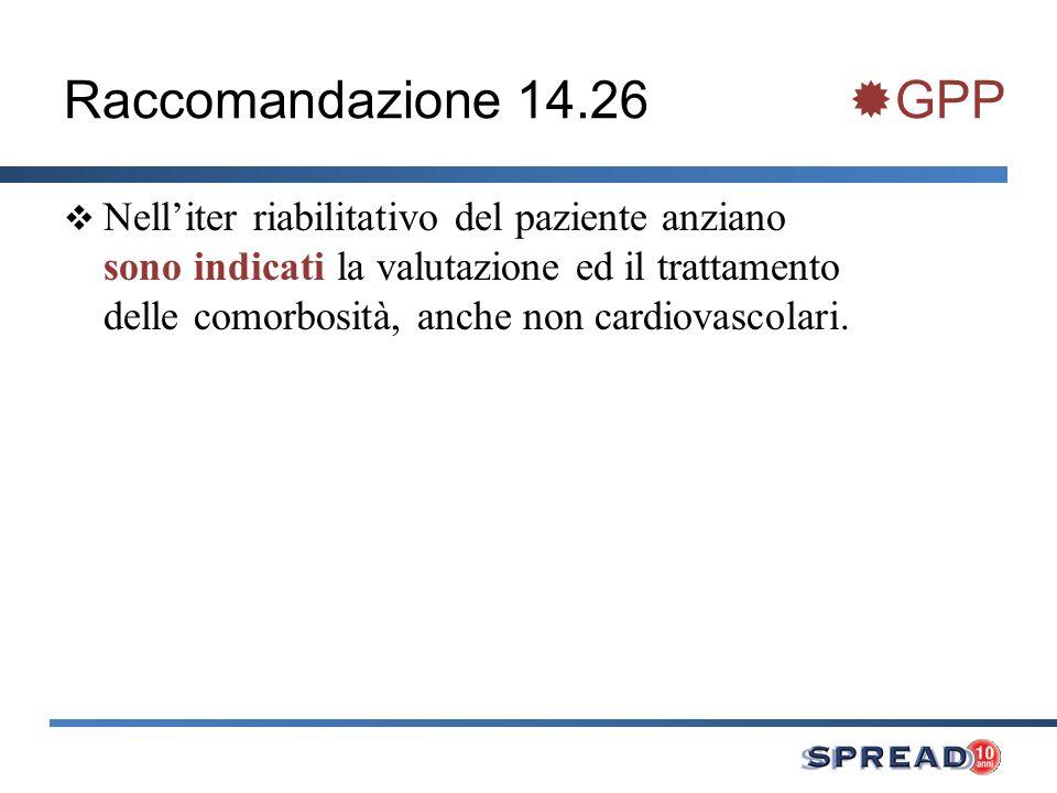 Raccomandazione 14.26 GPP