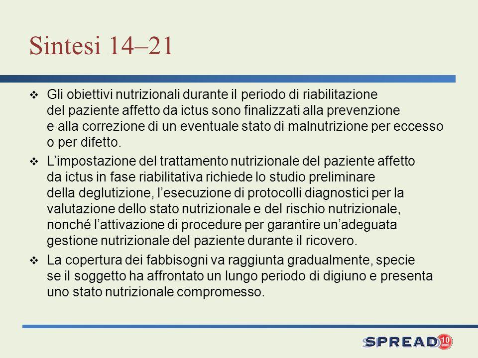 Sintesi 14–21