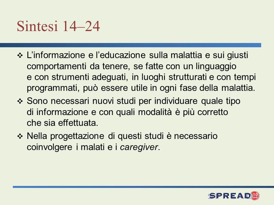 Sintesi 14–24