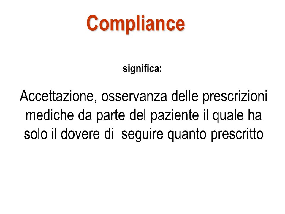 Compliance significa: