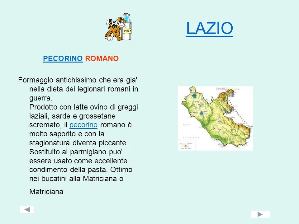 LAZIO PECORINO ROMANO.